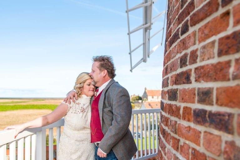Cley Windmill Norfolk Wedding – Nicola & Andy