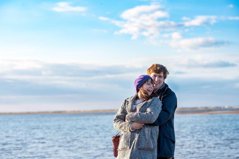 Rosie & Ben – Norfolk Beach Engagement Shoot