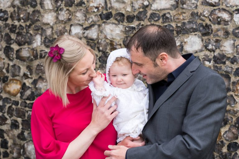 Bella's Christening – Norfolk Family Photography