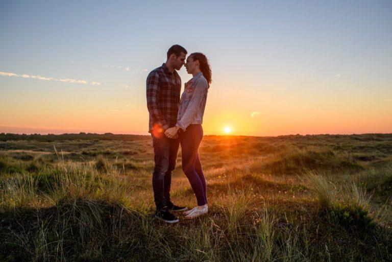 Winterton Norfolk Beach Engagement Shoot, Hannah & Stephen
