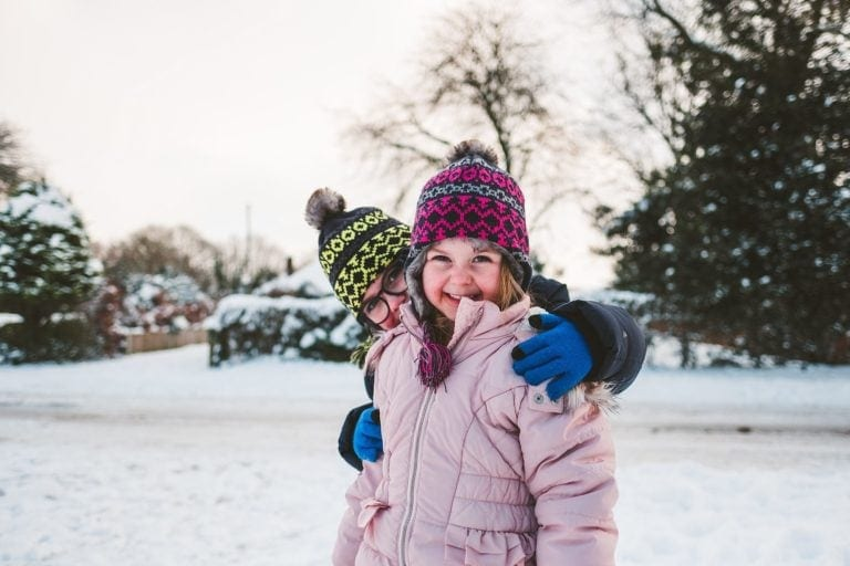 Norfolk Family Photography – Fun in the Snow