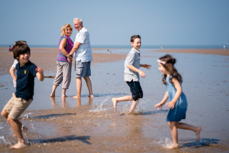 Old Hunstanton Beach Family Photography